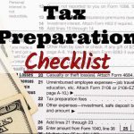 Pacific View Tax & Financial LLC's 2017 Tax Preparation Checklist
